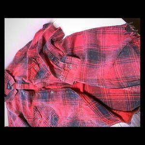 Zara Man plaid shirt